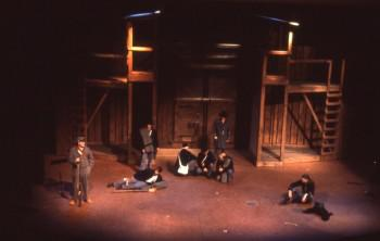 Picture taken during the performance of The American POW Drama