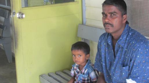 Fijians outside of a Diabetic Foot Clinic